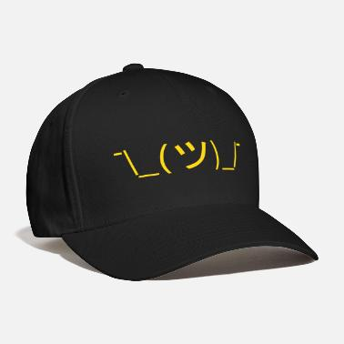 1359641b07be Emoticon Shrug Emoticon ¯  (ツ)  ¯ Japanese Kaomoji - Baseball. Baseball Cap