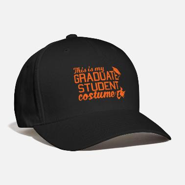 Grad Student Funny Grad Student Costume For College Students - Baseball Cap