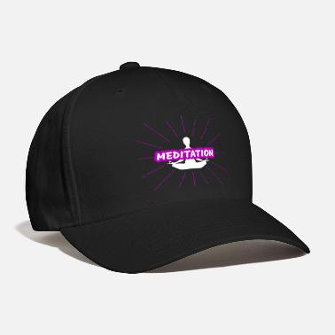 Meditating Meditation - Baseball Cap