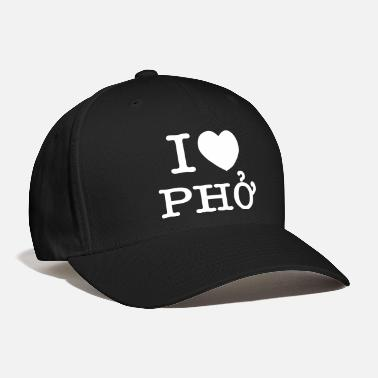 Pho I Heart (Love) Pho - Baseball Cap