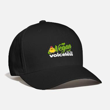 Vegan Vegan - Vegan for the voiceless (Chicken) - Baseball Cap