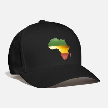 Africa Africa - red, gold and green - Baseball Cap
