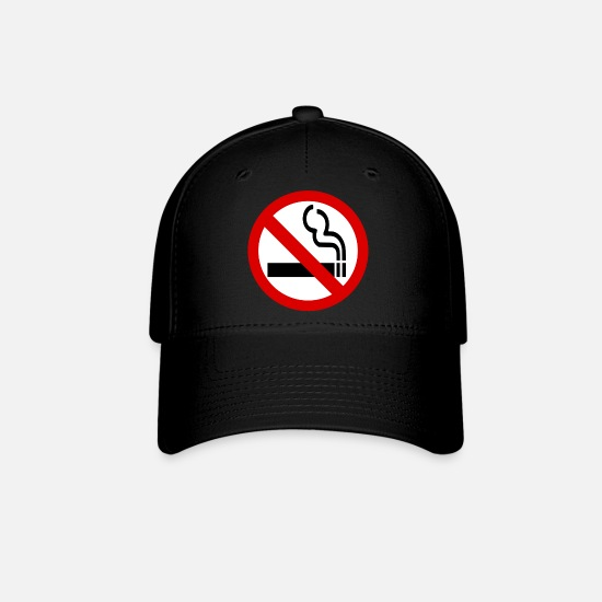 Symbol  Caps - NO SMOKING - Baseball Cap black