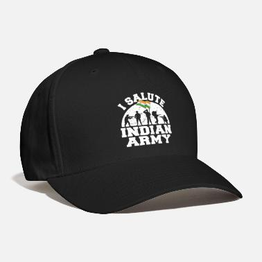 Border Security Force I Salute Indian Army Patriotic Indian - Baseball Cap