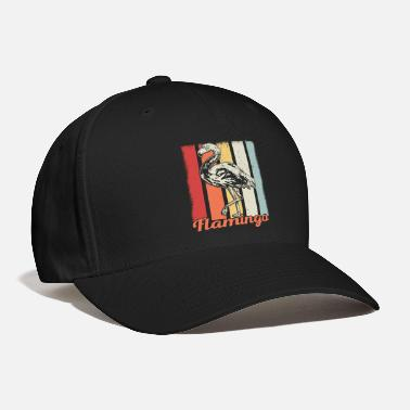 Tropical Bird Flamingo Retro Vintage Cool Gift - Baseball Cap