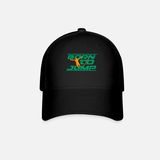 Gift Idea Caps - born to jump - Baseball Cap black