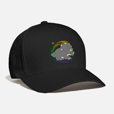 Triceratops dinosaurs dino fossil gift - Baseball Cap