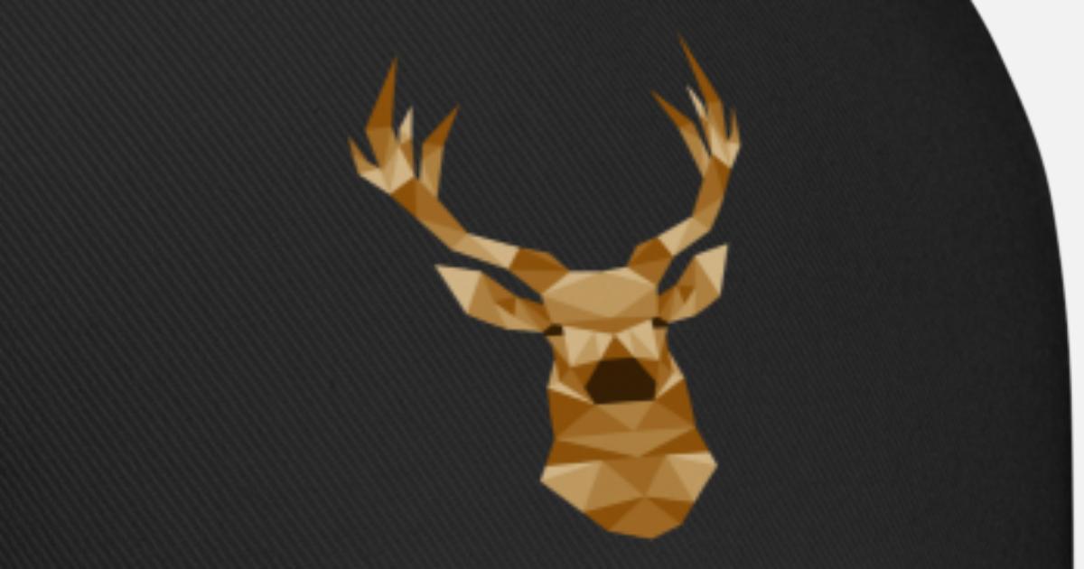 36b4165274e Deer Hunting Reindeer Stag Antler Moose Head Baseball Cap