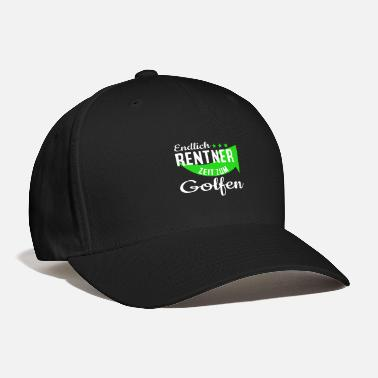Stroke Pension golf golfer saying gift - Baseball Cap
