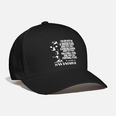 I Am A Swimmer I Am A Swimmer Funny Swimming Cool Practice - Baseball Cap