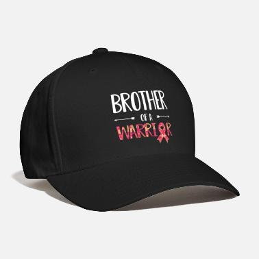 Brother Brother of a Warrior Autism Awareness Shirt - Baseball Cap