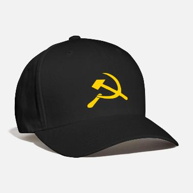 Sickle Hammer and Sickle - Baseball Cap