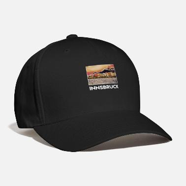 Innsbruck Innsbruck City Skyline Sights Silhouette - Baseball Cap