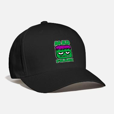 Frank Mad Frank. Frankenstein head - Baseball Cap
