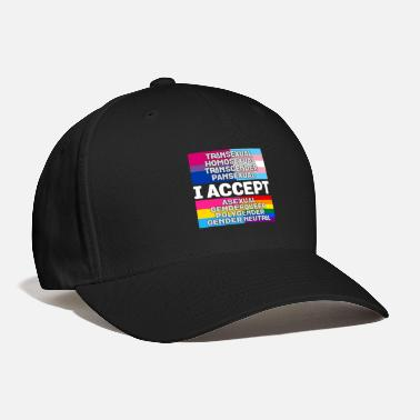 Pride I Accept All Genders And Orientations - Baseball Cap