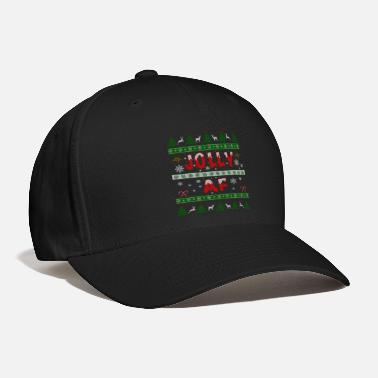 Af merry christmas jolly af ugly christmas sweater - Baseball Cap