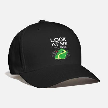 Venom Cobra venomous snake lizards gift for zoologists - Baseball Cap