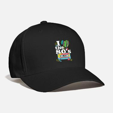 80s Clothing I Love The 80s Music - 80s Clothes Old school Gift - Baseball Cap