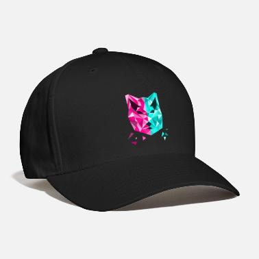 Funky Funky Wolf in 2 colors - Baseball Cap