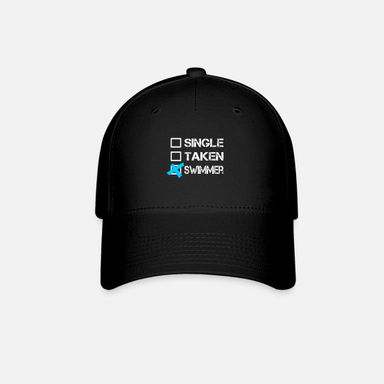 Swimmer Caps - Swimming - Baseball Cap black