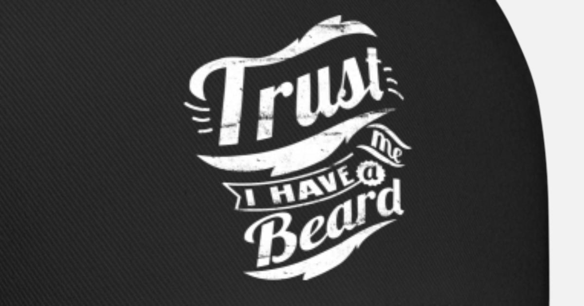 757bb330bb2 trust me i have a beard Baseball Cap