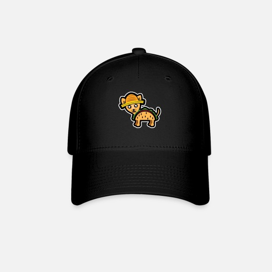 c113d4229 Funny Dog - Chihuahua Gift Mexico Taco Baseball Cap - black
