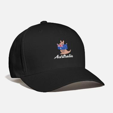 Australia Down Under Australia Down Under - Kangaroo - Baseball Cap