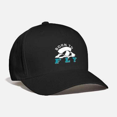 Action Sports Born To Fly Paraglider Extreme Action Sports Gift - Baseball Cap