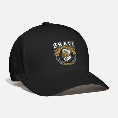 Grave Grave Before Shave Bearded - Baseball Cap