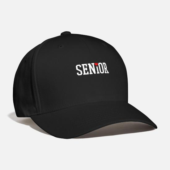 School Caps - Senior - Baseball Cap black