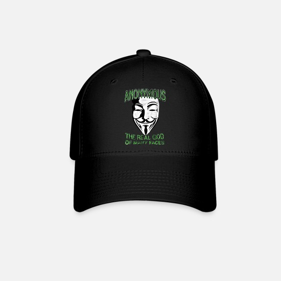 Vendetta Caps - Anonymous God of Faces - Baseball Cap black