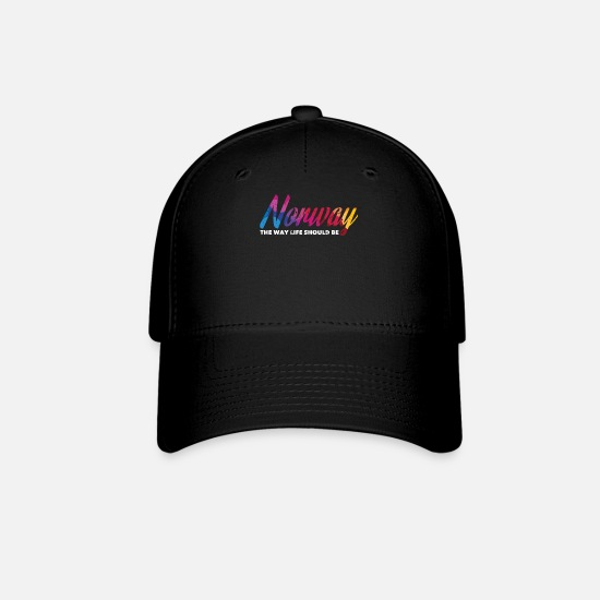 Norway Caps - Norway - Baseball Cap black