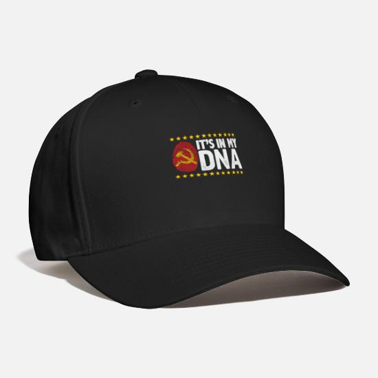 85709ab33 Gift Idea Caps - It s In My DNA USSR - Baseball Cap black