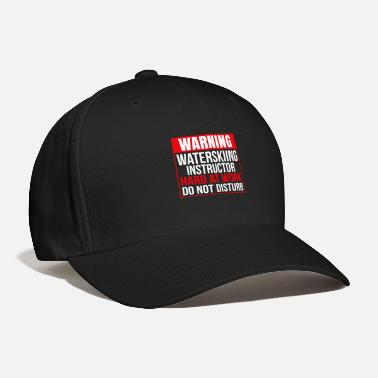 Water Water Ski Teacher - Baseball Cap
