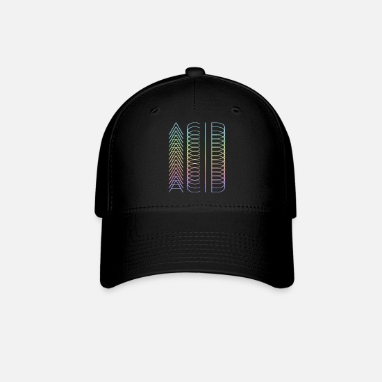 Lsd Caps - acid acid acid - Baseball Cap black