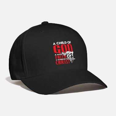 Warrior warrior god war battle chirst gift idea - Baseball Cap