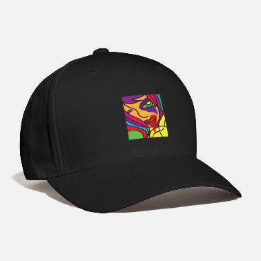 Vivid Color Contest Vivid Color Colorful Drawing Painting Gift Idea - Baseball Cap