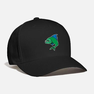 Plaice Piranha - Baseball Cap