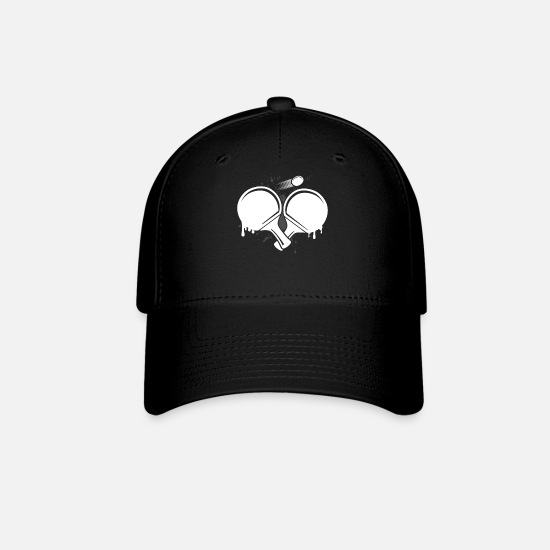 Gift Idea Caps - Ping Pong - Baseball Cap black