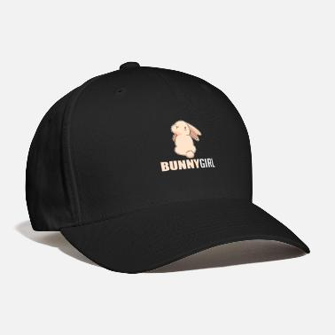 Bunny Cute Blushing Easter Bunny Girl Rabbit Booty - Baseball Cap
