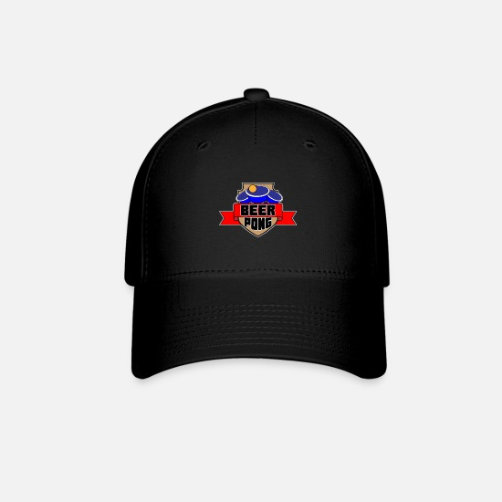 Alcohol Caps - Beer Pong - Baseball Cap black