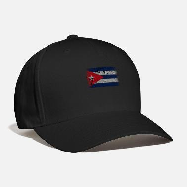 Cuban Roots Design Cuba Flag. Cool Cuban Flag. Cuban Roots - Baseball Cap