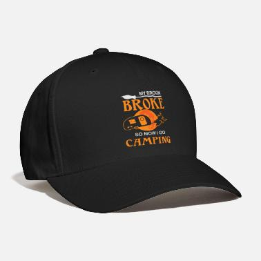 Halloween Witch Camping Broom - Baseball Cap