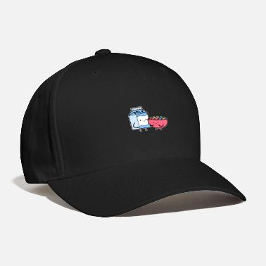 Flirting Milk And Cereal Boyfriend or Girlfriend Gift - Baseball Cap