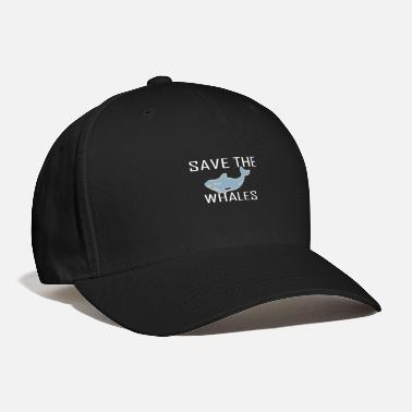 Save Save the whales - Baseball Cap