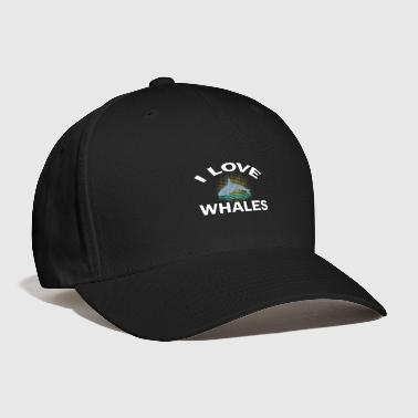 Save The Whales i love whales - Baseball Cap