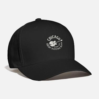 Windy City Chicago Electric Blues Windy City Guitar - Baseball Cap