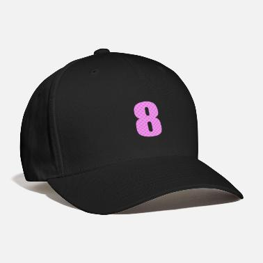 Lucky Number Lucky Number 8 with Lucky Chinese Character - Baseball Cap