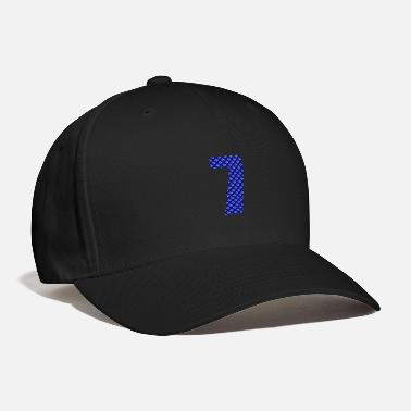 Lucky Number Lucky Number 7 with Lucky Chinese Character - Baseball Cap