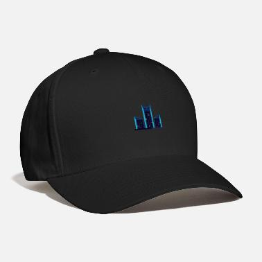 City At Night City at night | modern cool art style - Baseball Cap